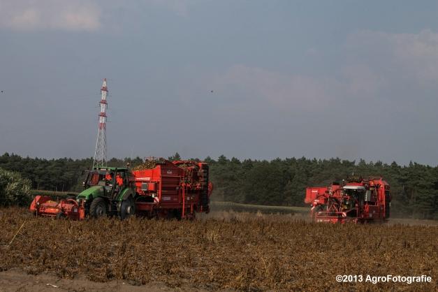 Deutz-Fahr + Grimme & Dewulf R3000 Mega-9