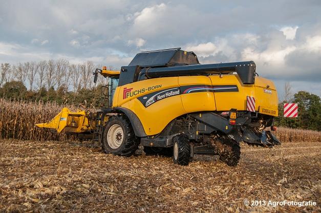 New Holland CX 780 (Fuchs) (10 van 21)