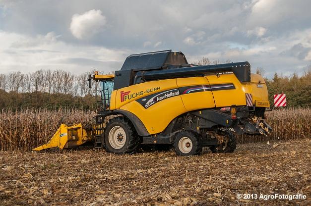 New Holland CX 780 (Fuchs) (12 van 21)
