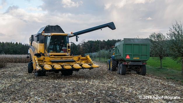 New Holland CX 780 (Fuchs) (18 van 21)