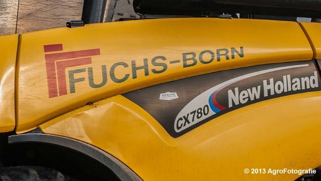 New Holland CX 780 (Fuchs) (3 van 21)