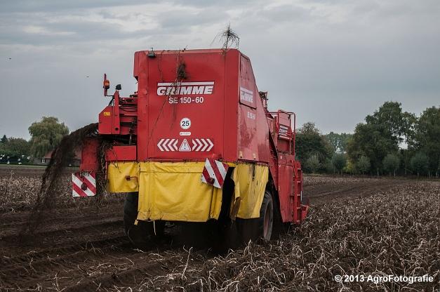 New Holland T6050 + Grimme SE 150-60 (7 van 25)