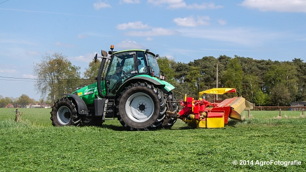 Deutz-Fahr Agrotron 106 + Pottinger (2 van 20)
