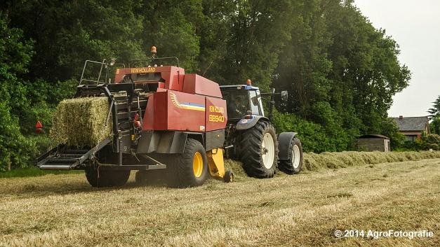 New Holland TM 165 + NH BB 940 (7 van 21)