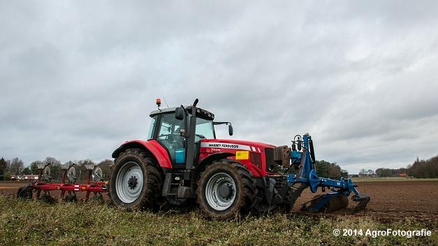 Massey Ferguson 7485 + Kverneland (Cuyvers) (14 van 23)
