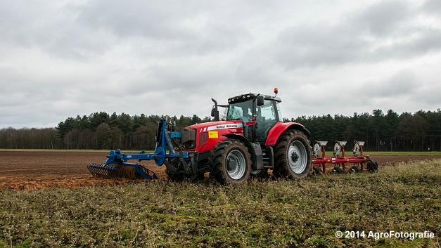 Massey Ferguson 7485 + Kverneland (Cuyvers) (8 van 23)