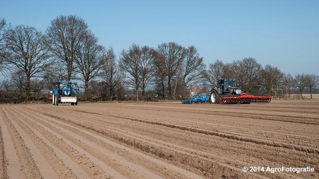 New Holland T7.210 + Gaspardo (Roost) (1 van 29)