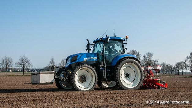 New Holland T7.210 + Gaspardo (Roost) (10 van 29)