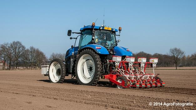New Holland T7.210 + Gaspardo (Roost) (12 van 29)