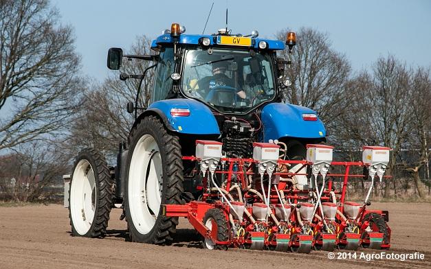 New Holland T7.210 + Gaspardo (Roost) (14 van 29)