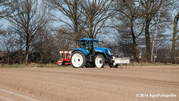 New Holland T7.210 + Gaspardo (Roost) (16 van 29)