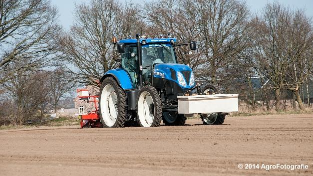 New Holland T7.210 + Gaspardo (Roost) (17 van 29)