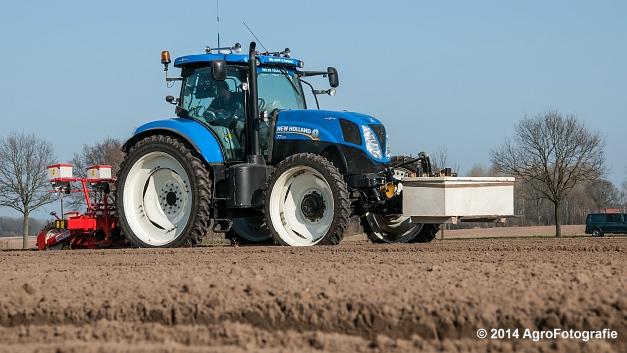 New Holland T7.210 + Gaspardo (Roost) (18 van 29)