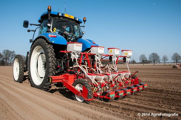 New Holland T7.210 + Gaspardo (Roost) (21 van 29)