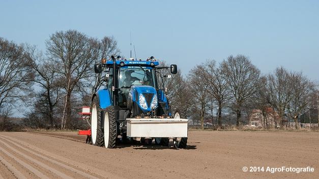 New Holland T7.210 + Gaspardo (Roost) (23 van 29)