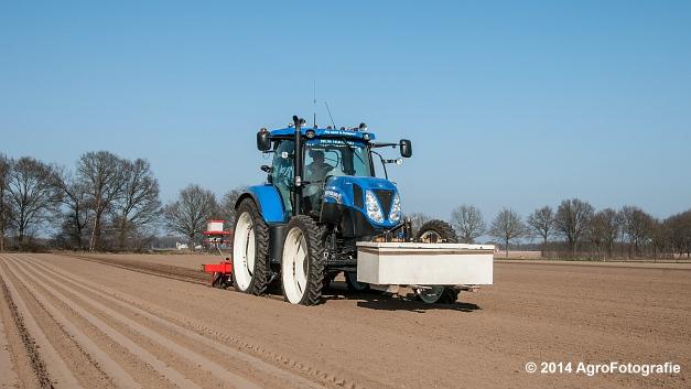 New Holland T7.210 + Gaspardo (Roost) (24 van 29)