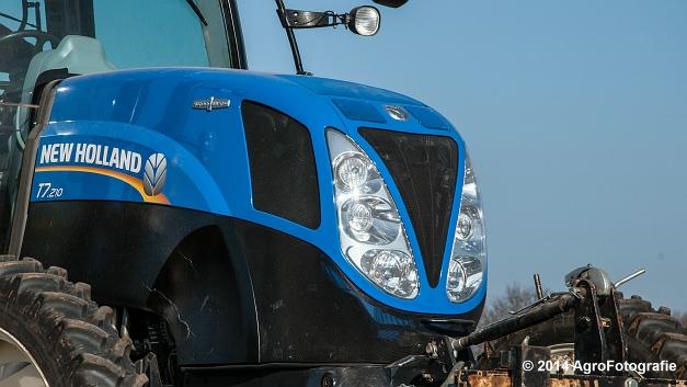 New Holland T7.210 + Gaspardo (Roost) (25 van 29)