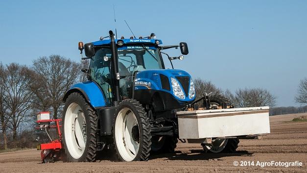 New Holland T7.210 + Gaspardo (Roost) (3 van 29)