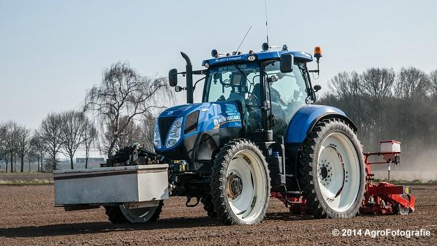 New Holland T7.210 + Gaspardo (Roost) (9 van 29)