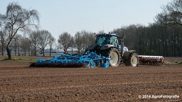 New Holland T7070 BP + Lemken (Roost) (10 van 22)