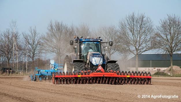 New Holland T7070 BP + Lemken (Roost) (11 van 22)