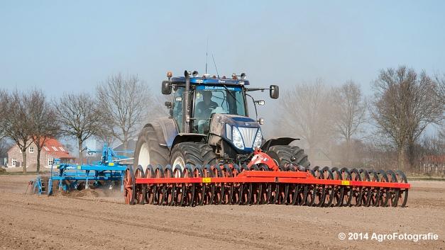 New Holland T7070 BP + Lemken (Roost) (12 van 22)