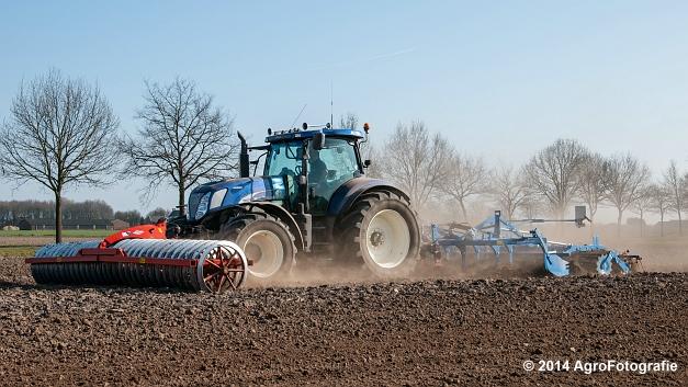 New Holland T7070 BP + Lemken (Roost) (15 van 22)