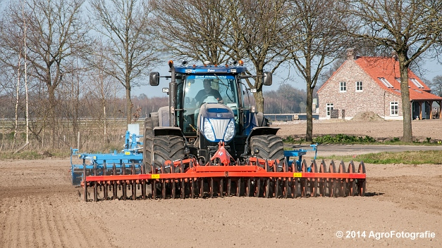 New Holland T7070 BP + Lemken (Roost) (19 van 22)