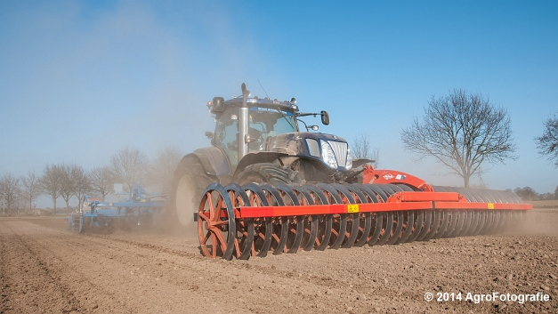 New Holland T7070 BP + Lemken (Roost) (21 van 22)