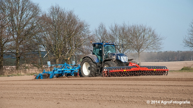 New Holland T7070 BP + Lemken (Roost) (5 van 22)