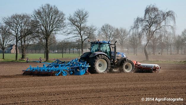 New Holland T7070 BP + Lemken (Roost) (7 van 22)