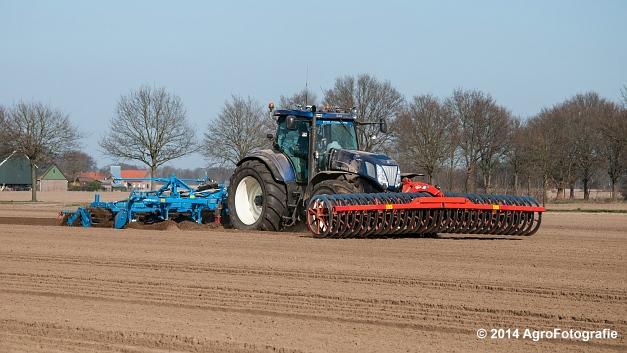 New Holland T7070 BP + Lemken (Roost) (8 van 22)