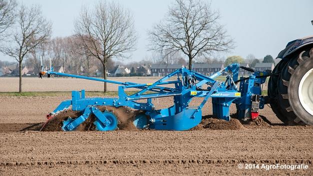 New Holland T7070 BP + Lemken (Roost) (9 van 22)