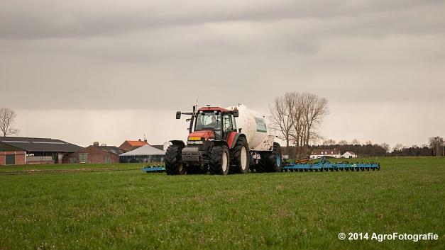 New Holland TM 165 + Duport (Schoonen) (10 van 26)