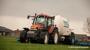 New Holland TM 165 + Duport (Schoonen) (11 van 26)