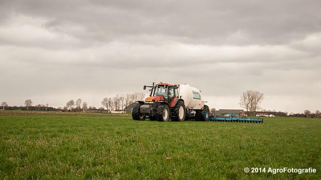New Holland TM 165 + Duport (Schoonen) (12 van 26)