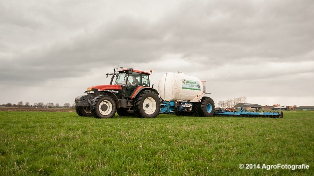 New Holland TM 165 + Duport (Schoonen) (14 van 26)