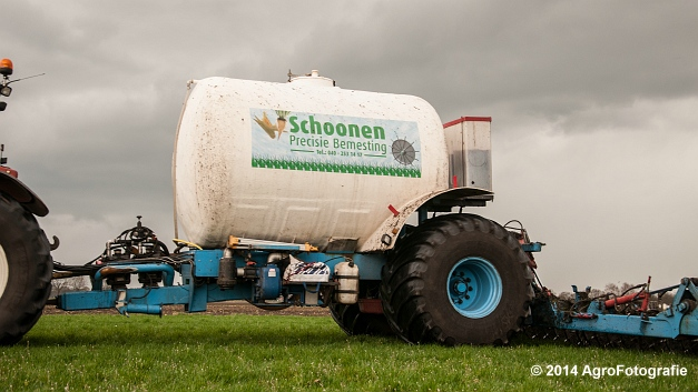 New Holland TM 165 + Duport (Schoonen) (16 van 26)