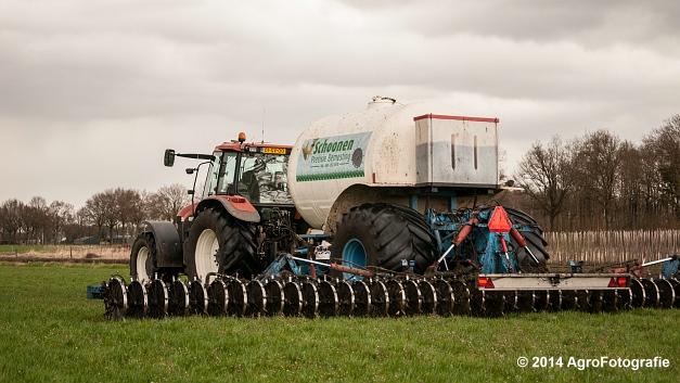 New Holland TM 165 + Duport (Schoonen) (21 van 26)