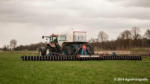 New Holland TM 165 + Duport (Schoonen) (22 van 26)