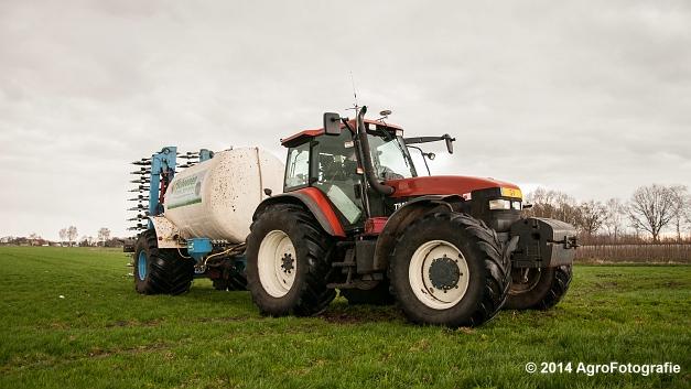 New Holland TM 165 + Duport (Schoonen) (24 van 26)
