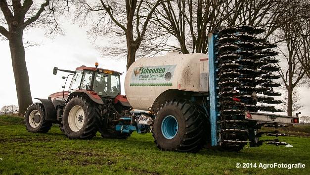 New Holland TM 165 + Duport (Schoonen) (25 van 26)