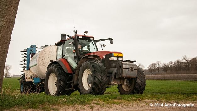 New Holland TM 165 + Duport (Schoonen) (26 van 26)