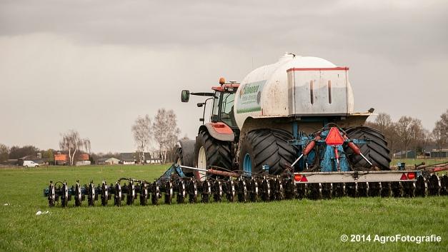 New Holland TM 165 + Duport (Schoonen) (5 van 26)