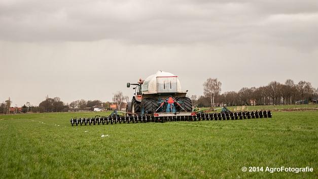 New Holland TM 165 + Duport (Schoonen) (7 van 26)