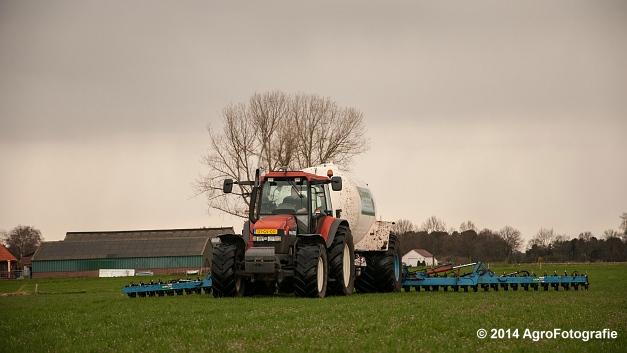 New Holland TM 165 + Duport (Schoonen) (9 van 26)