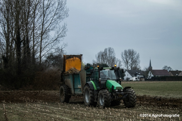 Deutz-Fahr Agrotron + Rolland-11