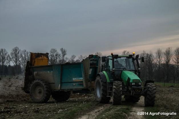 Deutz-Fahr Agrotron + Rolland-14