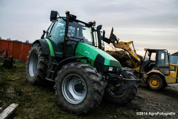 Deutz-Fahr Agrotron + Rolland-16
