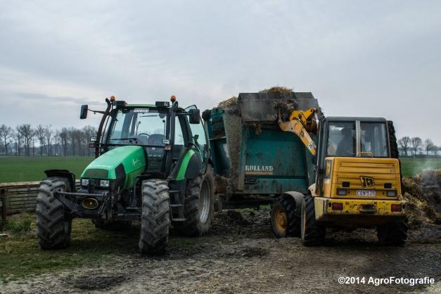Deutz-Fahr Agrotron + Rolland-20